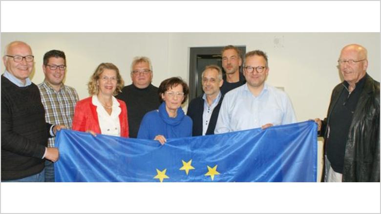 CDU-Stadtratsfraktion spendet 500 Euro für Partnerschafts-Skulptur
