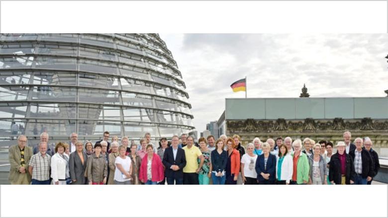 Begegnung mit Politik und deutscher Geschichte