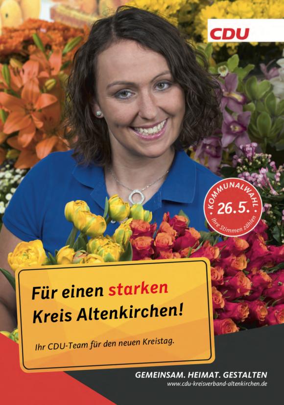 Kommunalwahl im Kreis Altenkirchen: Titelseite Prospekt